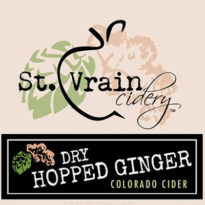 St. Vrain Cidery Dry Hopped Ginger Cider
