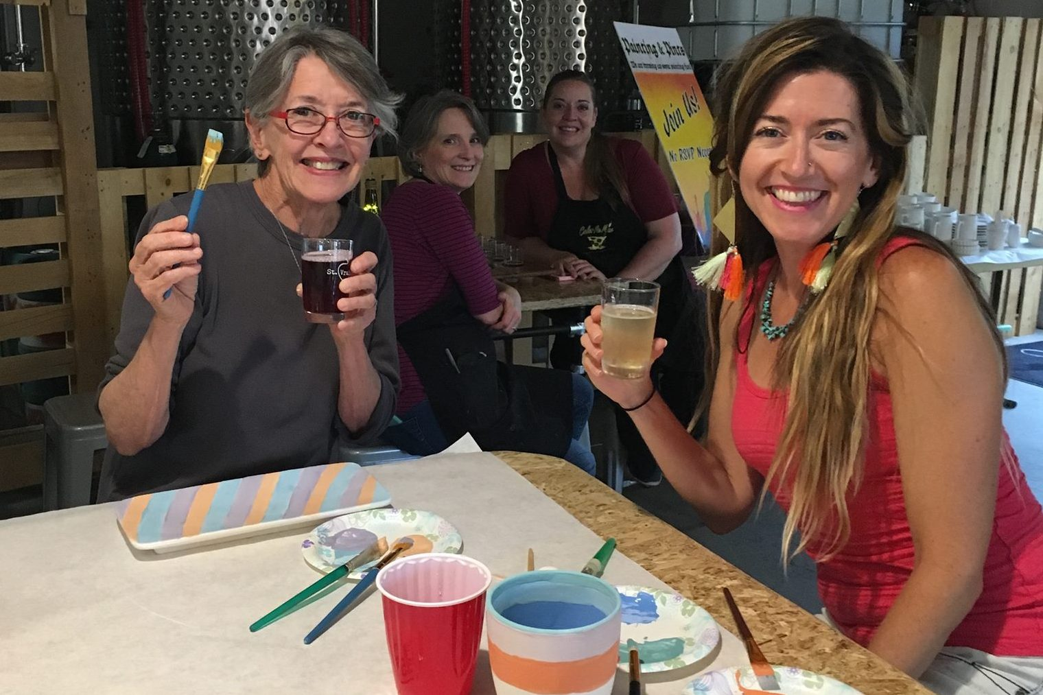 Cider & Ceramics with Color Me Mine