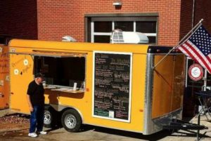 Yolkin' Around food truck