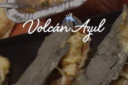 Volcan Azul food truck
