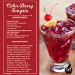 Cider Berry Sangria
